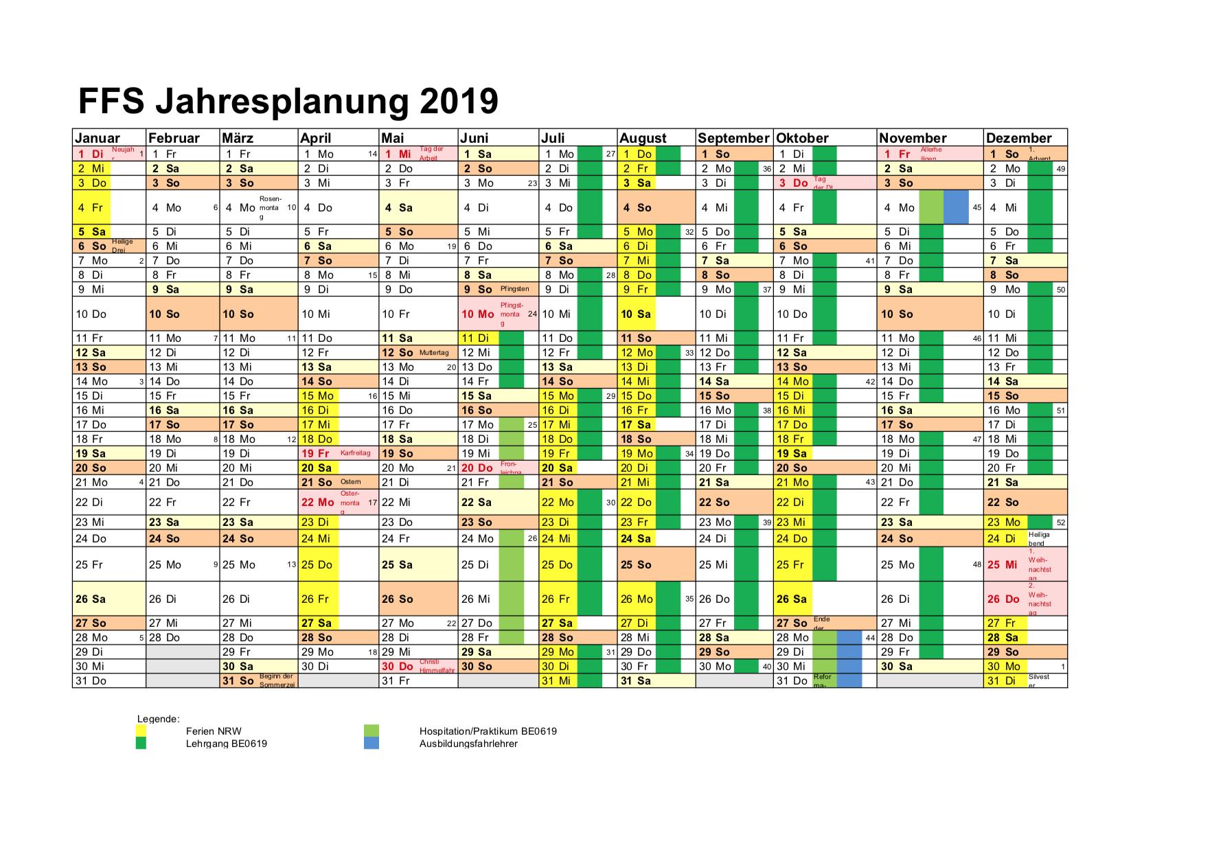 Fahrlehrerfachschule 2019 Termine